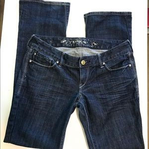 Express boot cut jeans size 8 regular